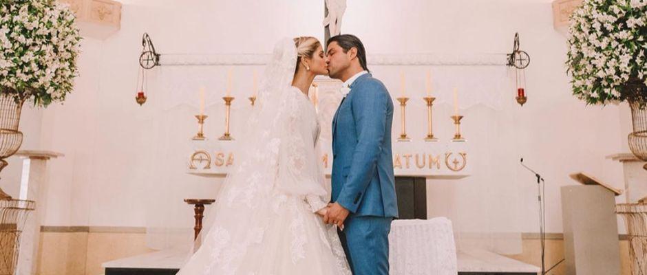 Casamento religioso de Thássia Naves