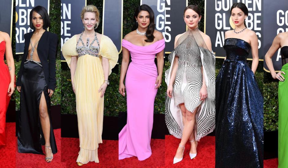 Madrinhas, padrinhos e convidados: looks das estrelas no Globo de Ouro ditam tendências de gala