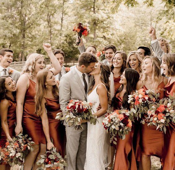 #ParaInspirar: cores do outono no seu casamento