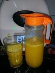 Laranjada. Sumo de laranja natural