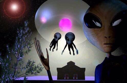 Quem Somos Nós, os Extraterrestres?