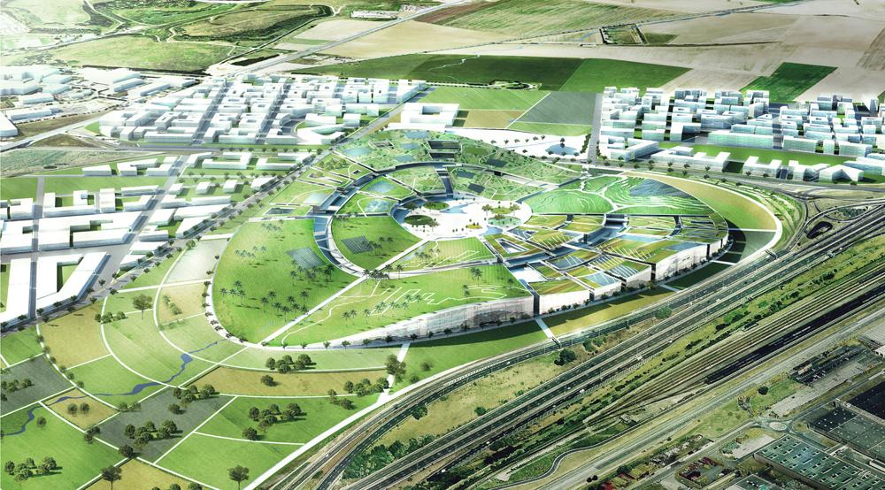 europa city big Europa City : plus grand complexe commercial dEurope au nord de Paris par BIG architectes