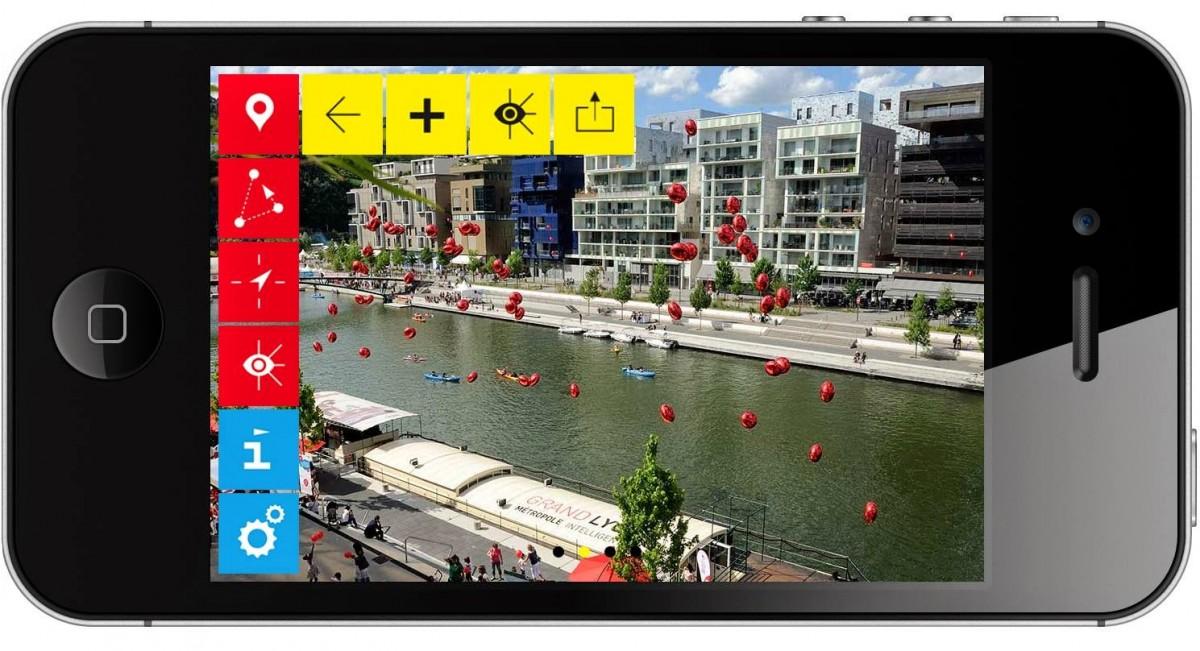 my confluence appli iphone lyon 1200x651 MyConfluence® #Lyon : une appli pour découvrir les projets en réalité augmentée