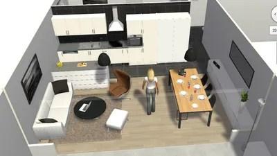 Jessica  Je cherche  mieux sparer salle  manger et salon et  optimiser place  Ct Maison
