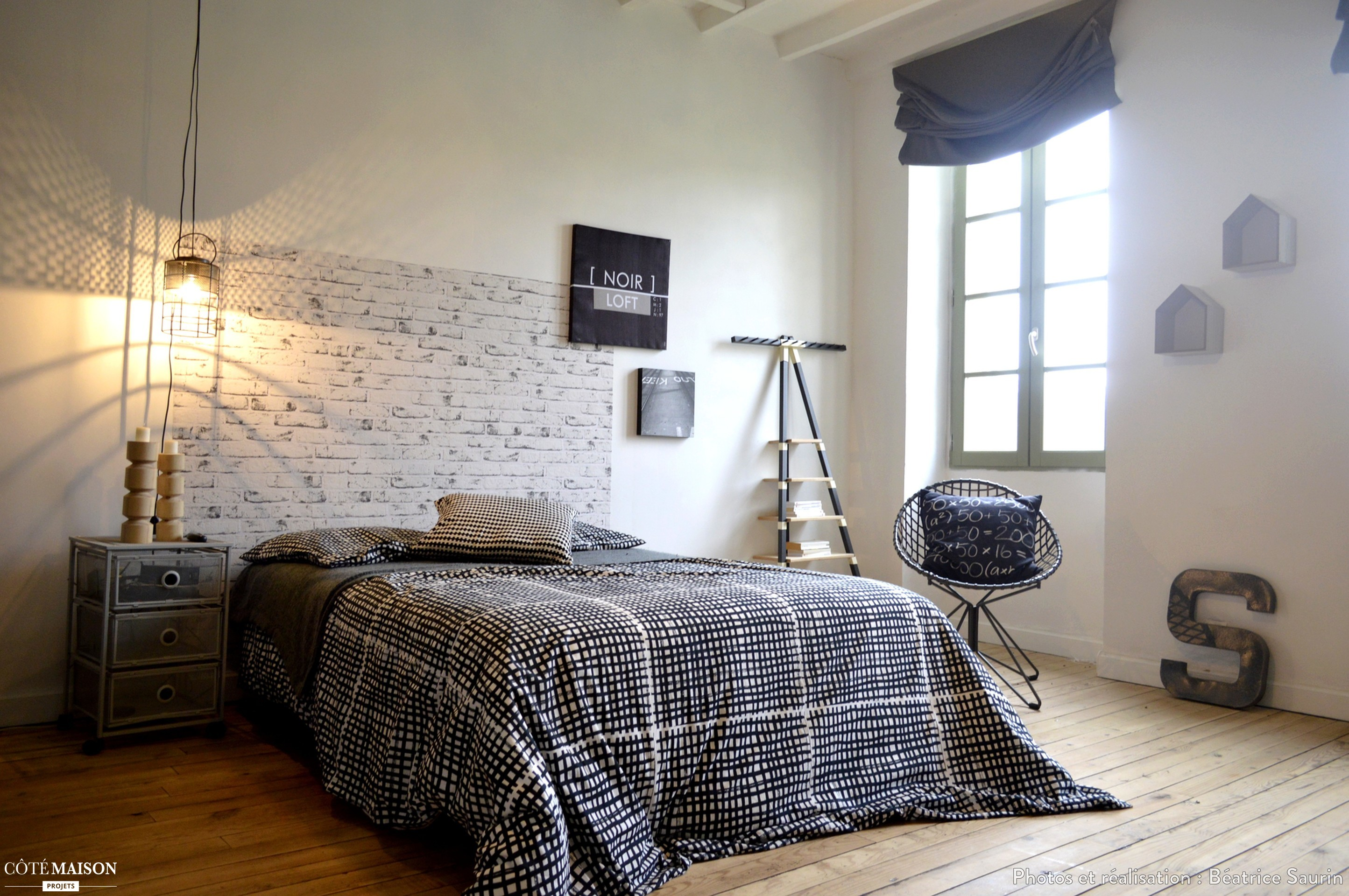 Rnovation et dcoration dune chambre dadolescent Batrice Saurin  Ct Maison