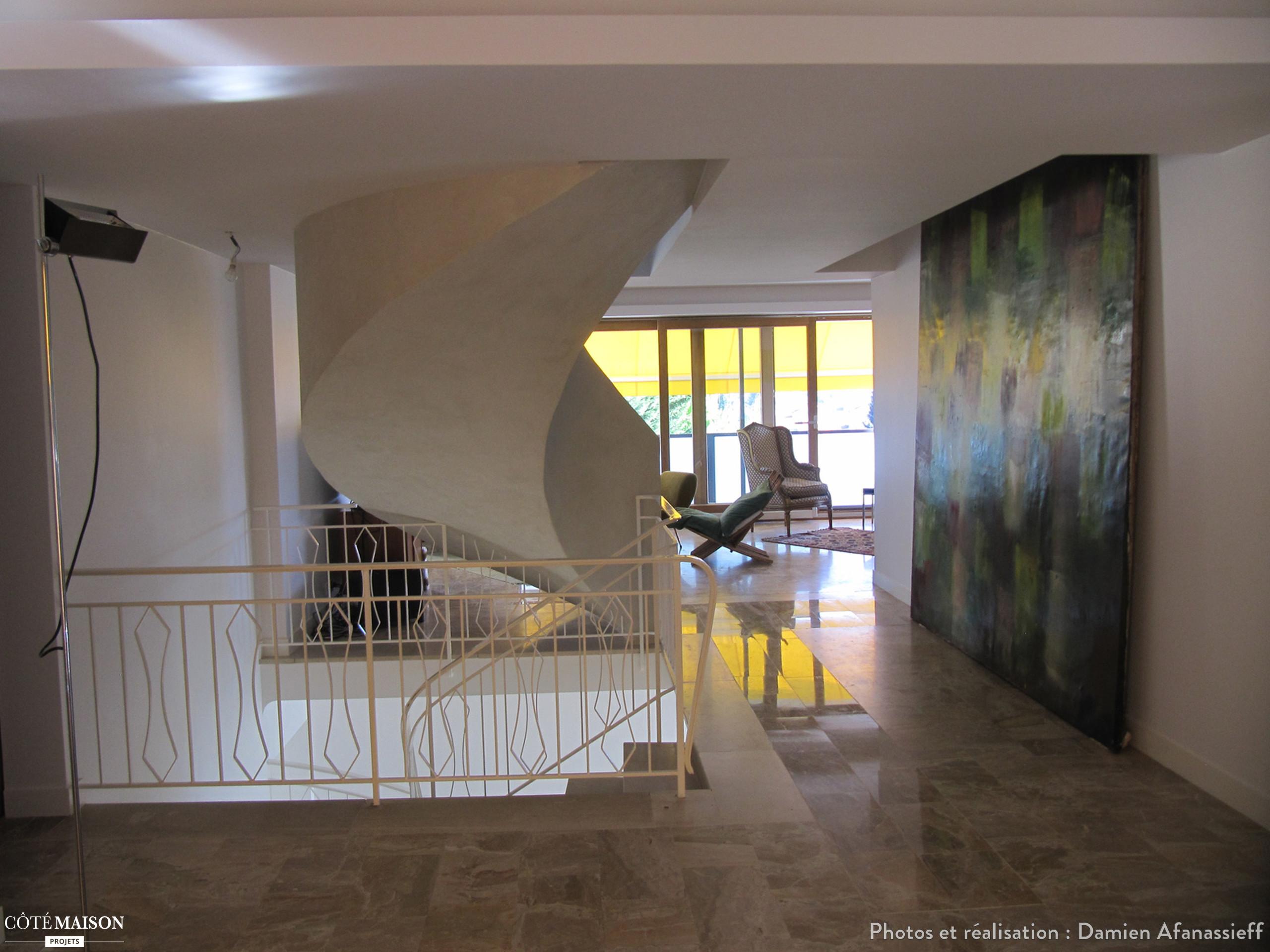 Restructuration intrieure dune maison de 1970 Damien Afanassieff  Ct Maison