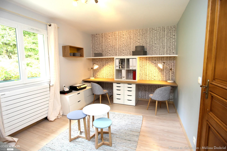 Bureau Chambre Damis Mlissa Desbriel Ct Maison