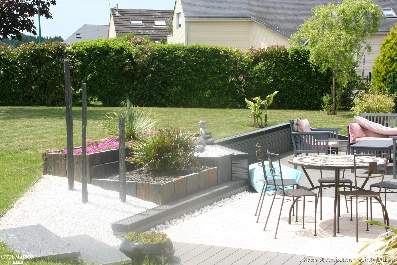 Terrasse contemporaine Olivier Dubois  Ct Maison