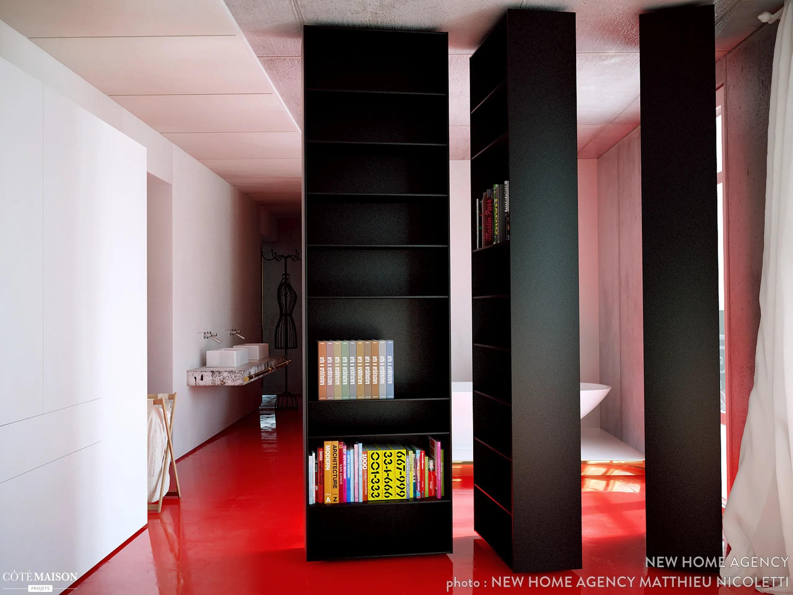90 m2 rnovs en Kubrick style new home agency  Ct Maison