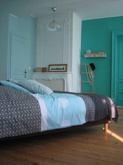 La chambre Cladon du Chteau Rouge en Lot et Garonne Sandrine Ginhac  Ct Maison