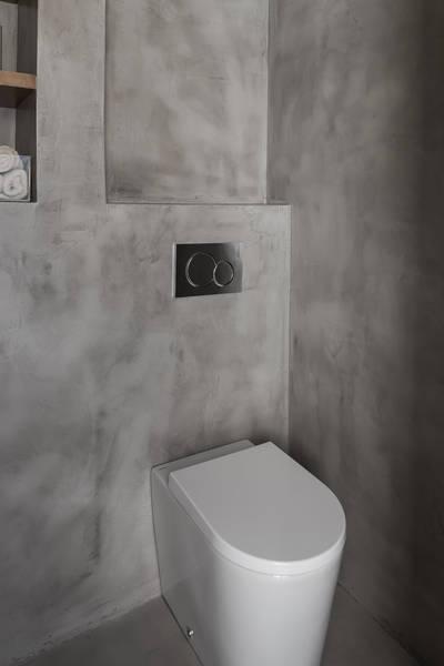 Toilettes en beton cir Inma studio  Ct Maison