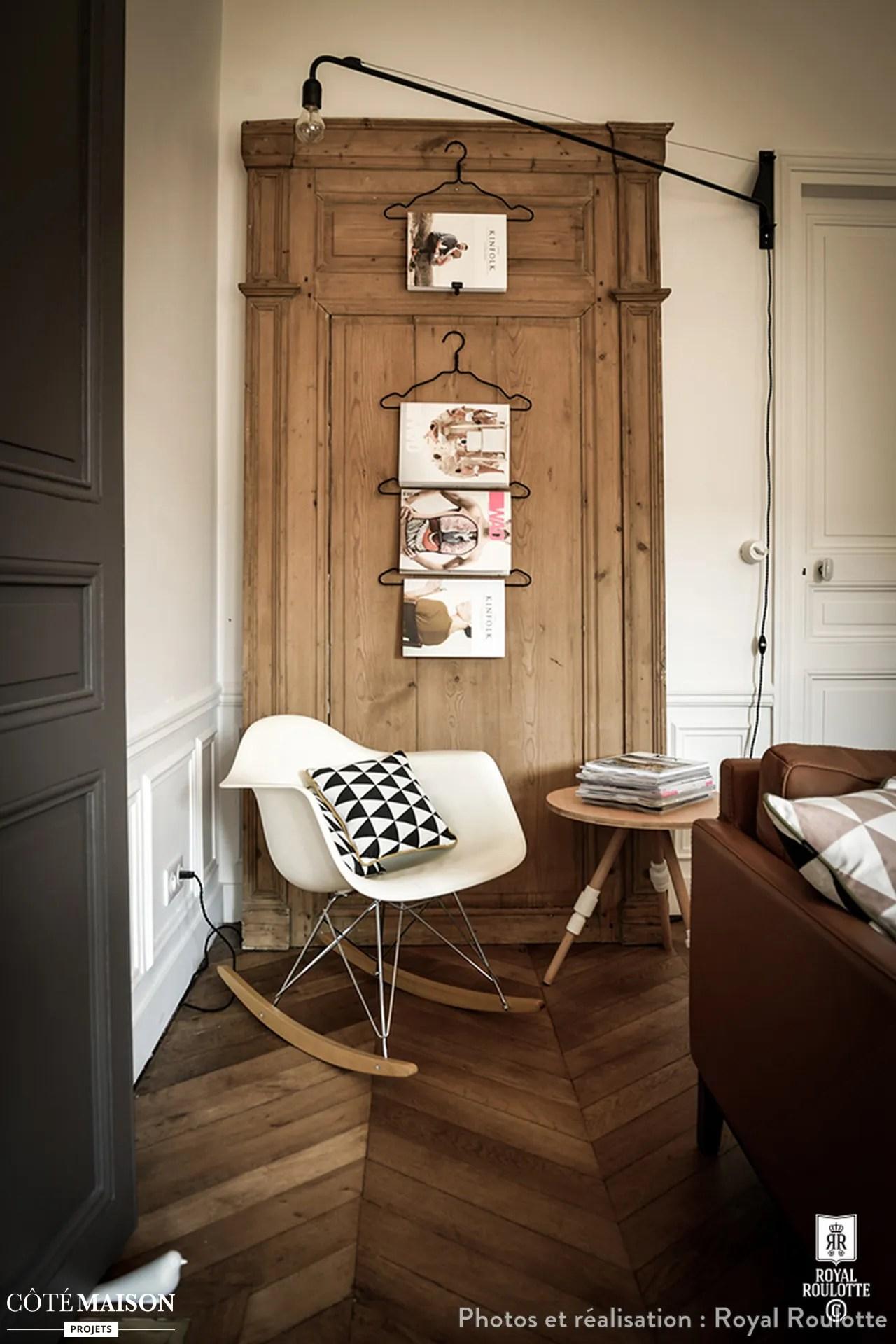Une maison de style Mansart revisite et modernise  Royal Roulotte  Ct Maison