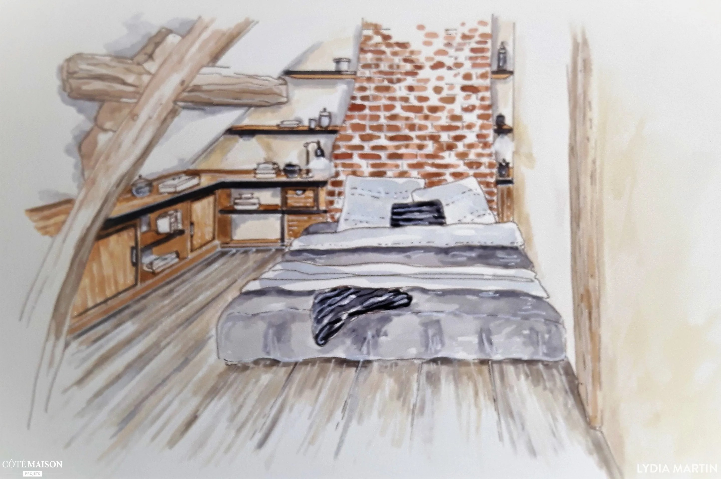 Chambre Sous Combles Deco