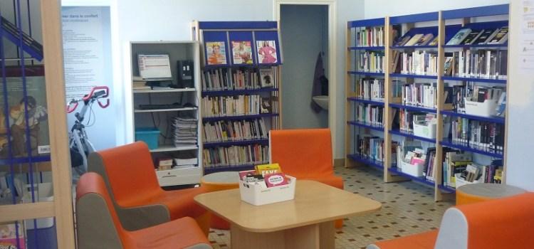 Maison d'arrêt de Caen, quartier des femmes, accès au livre