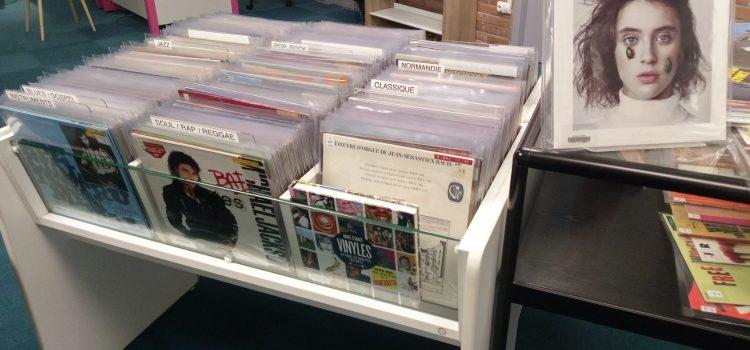 Rouen – Les vinyles, mettre à disposition du public un support oublié !