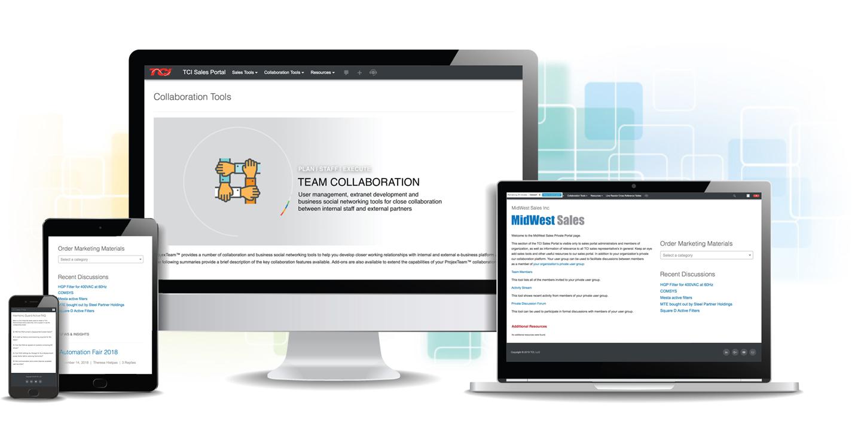 B2B Sales Portal - Projex IMC