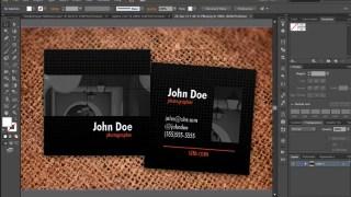 বিজনেস কার্ড ডিজাইন পর্ব-৪৬ (Square Card Design 2)