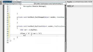 C# প্রোগ্রামিং টিউটো পর্ব-১৪ (Key Event)