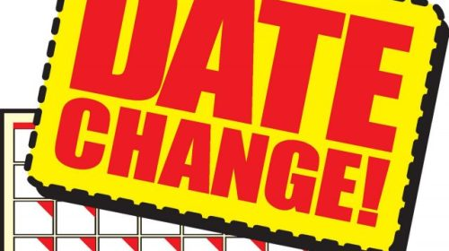 Calendar Changes – Take Note