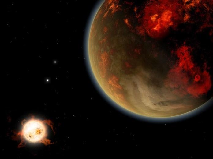 Экзопланета gliese876d