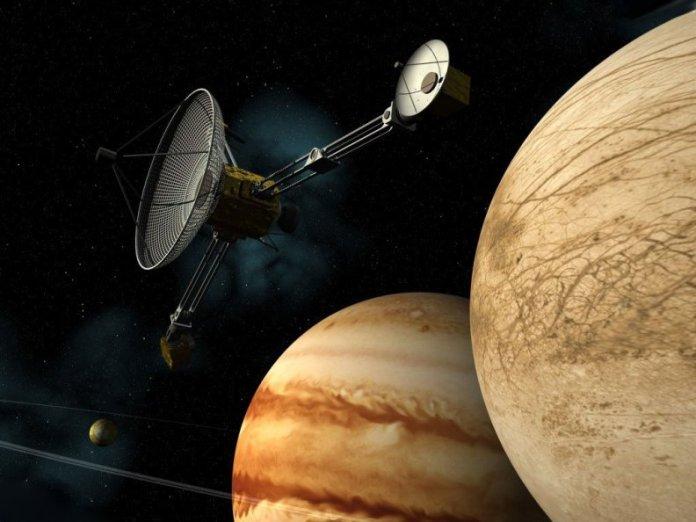 Вояджер 1 и Юпитер