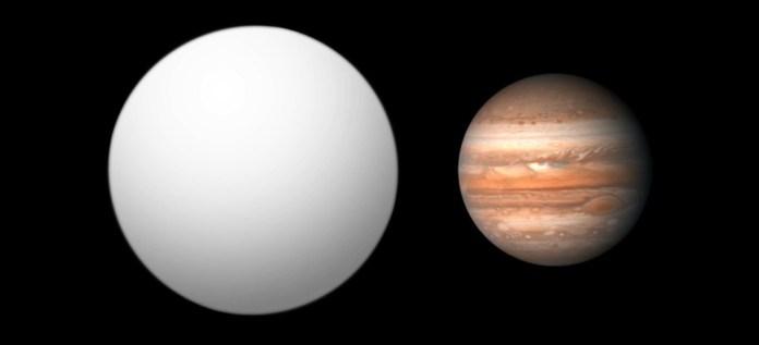 2M1207 b - экзопланета возле коричневого карлика