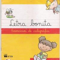 Letra Bonita - exercícios de caligrafia