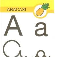 Cartaz para parede: alfabeto com 4 formas de escrita