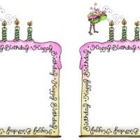 Bordas aniversário