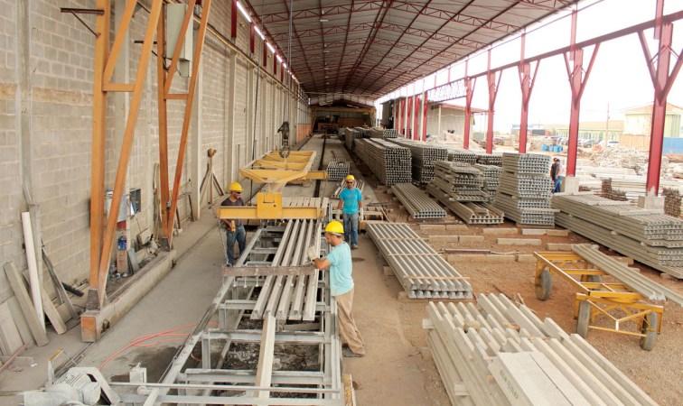 Fábrica de Laje protendida pré-moldada