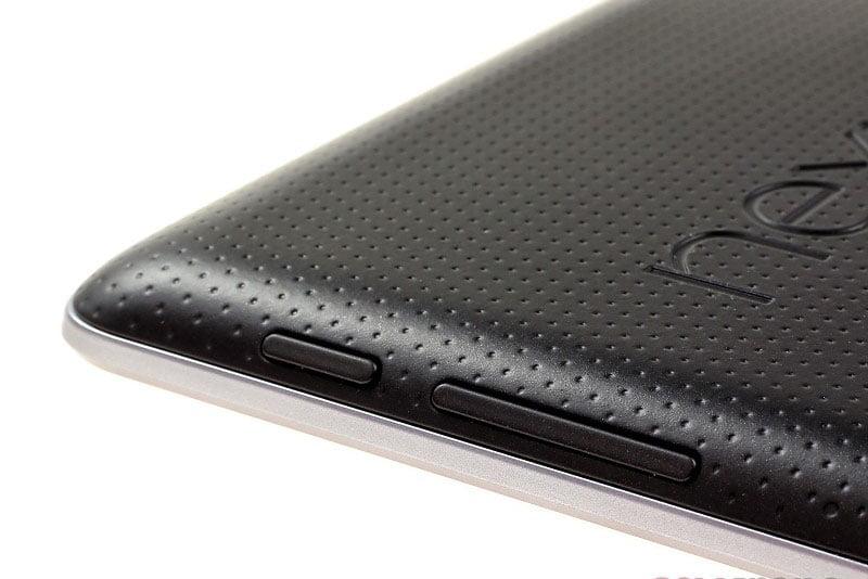 Nút nguồn và volume máy Google Nexus 7
