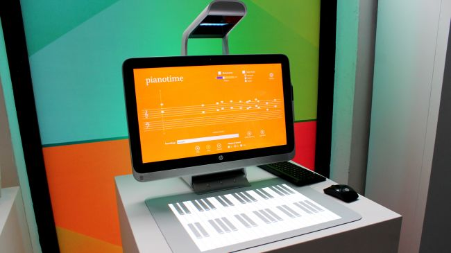 hp sprout piano cam ung