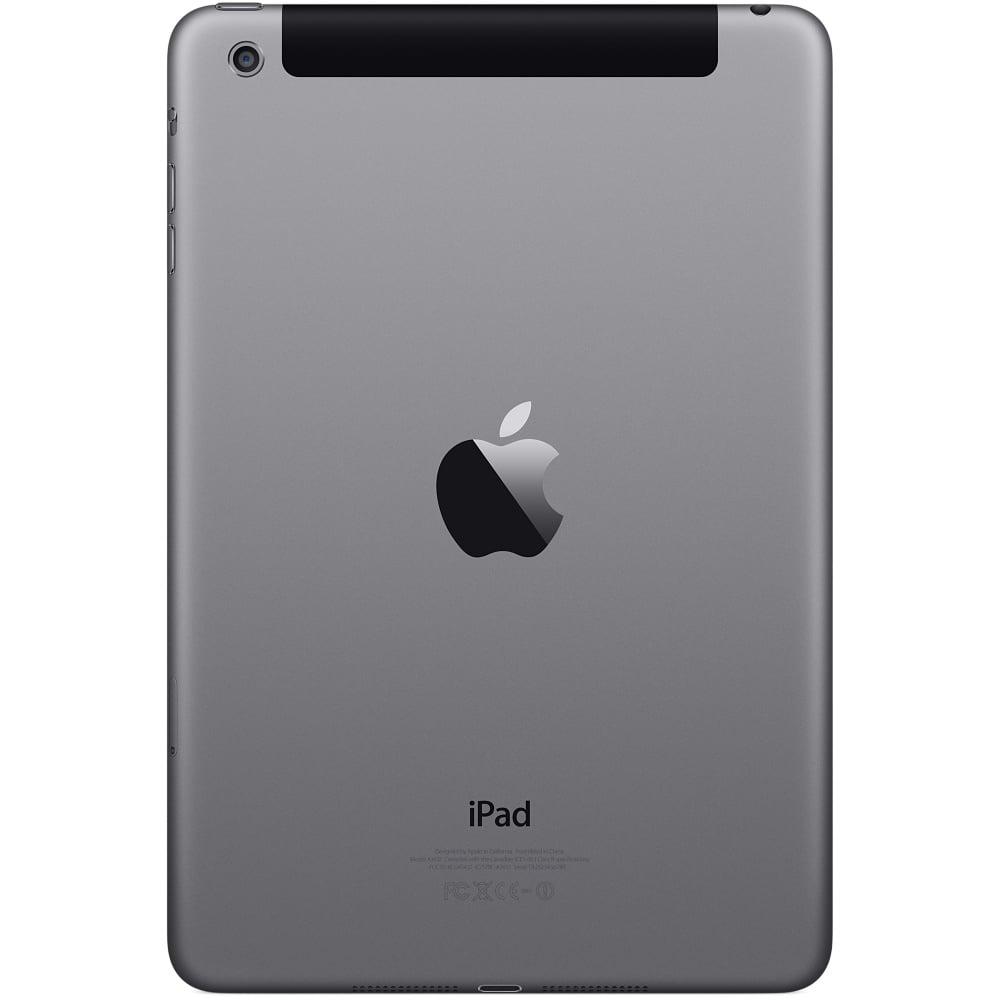 iPad mini 4G + Wifi 16GB, 32GB, 64GB màu xám mặt sau