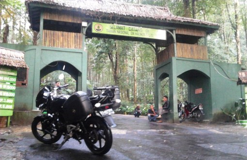 Kawasan wisata Gunung Bunder Bogor
