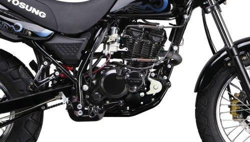 Hyosung Karion Terbaru DOHC, Power Naik Jadi 13.5 HP