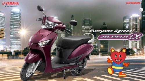 Selain Yamaha N-Max, Akankah Yamaha Indonesia Merilis Yamaha Alpha Injeksi?