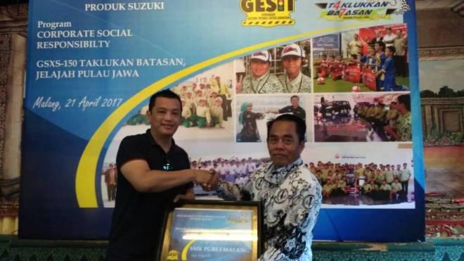 T4klukkan Ba7asan GSX-S150 Mengakhiri Perjalanan di Surabaya