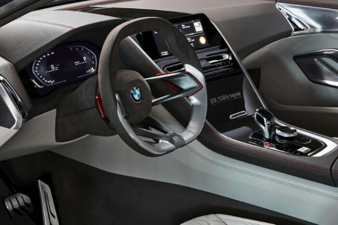 [Gallery] Interior BMW Seri 8 2018
