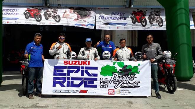 "5 Rider Suzuki GSX-S 150 Menghadiri Acara Internasional ""Horizons Unlimited"" di Sumbawa"