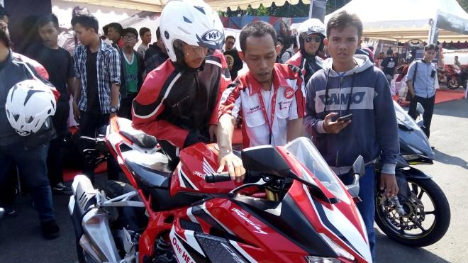 Astra Motor Yogyakarta Menggelar CBR 250RR Weekday Demo Day di Purwokerto