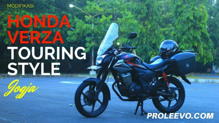 Modifikasi Honda Verza Sederhana