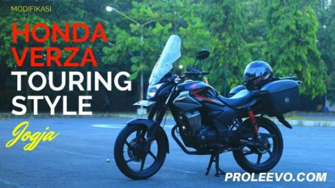Video: Modifikasi Sederhana Honda Verza untuk Touring