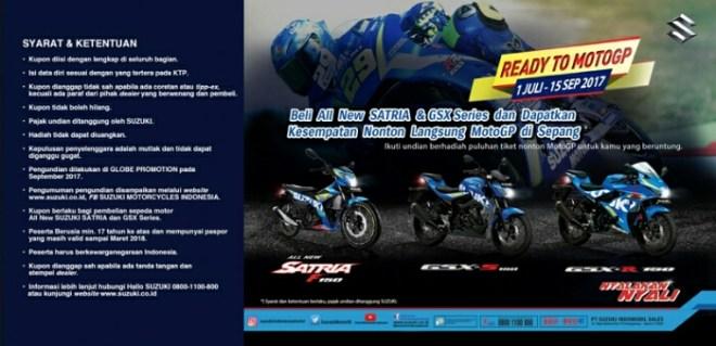 Ikuti Nonton Langsung MotoGP Sepang Bareng Suzuki