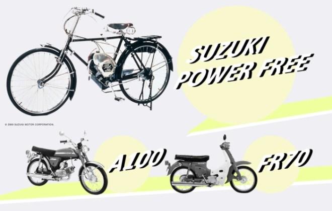 Sejarah Motor Suzuki Siap Tampil di Hadapan Publik