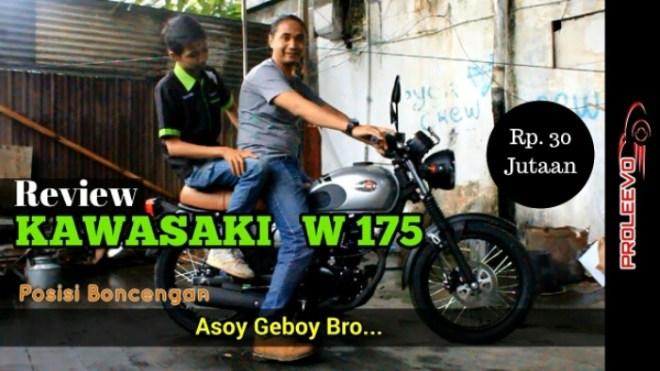 Kawasaki W175 Indonesia, Motor Klasik Harga Asyik