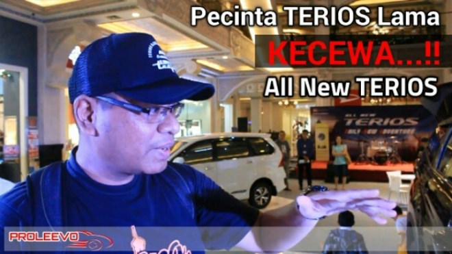 Kecewa all new terios