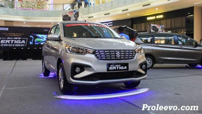 Exterior & Interior All New Ertiga GX 2018