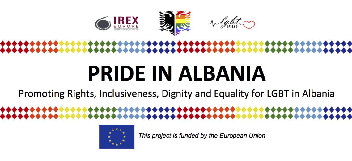 Pride in Albania Banner