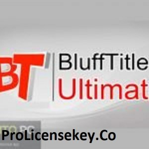 BluffTitler Ultimate 15.1.0.0 + Crack Full Latest 2021 Update
