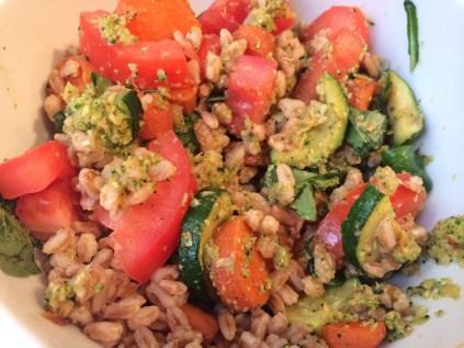 Grain and Pesto Bowl